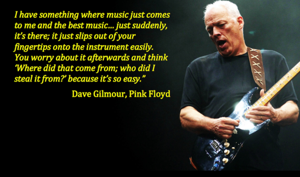 Quotation - Dave Gilmour