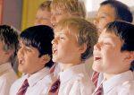 boys choir singing